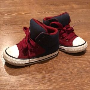 Blue/Red Converse All-Star Sneakers Toddler size 6